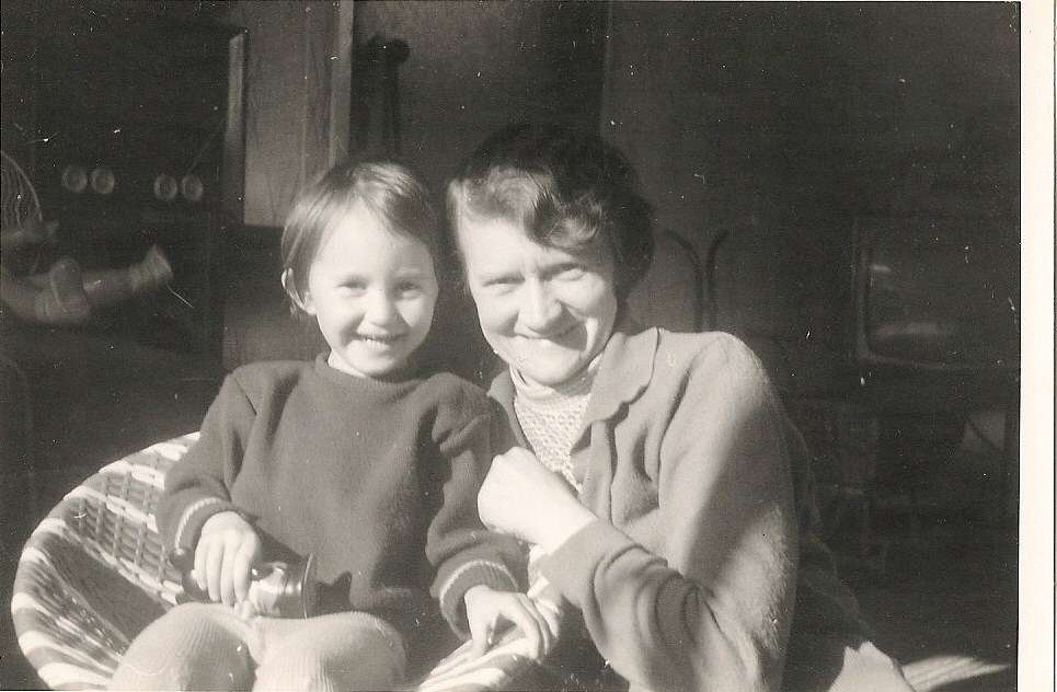 My gran with my mother as a child.